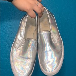 Guess holographic shoes